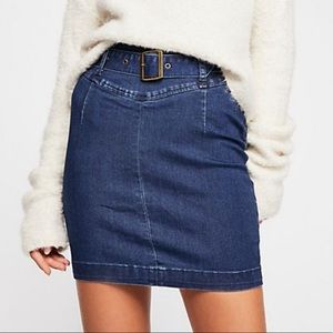 Free People Living It Up Skirt